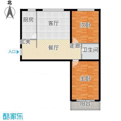 恒盛家园99.09㎡恒盛家园户型图(6/19张)户型10室
