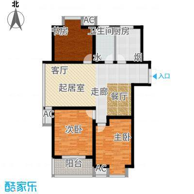 凯旋城120.00㎡凯旋城户型图凯旋城六期3室2厅1卫120.00㎡(6/21张)户型3室2厅1卫