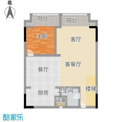 漕湖之星100.00㎡漕湖之星户型图5#欧式户型一层(1/2张)户型3室2厅3卫