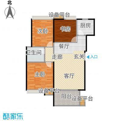 东投阳光城94.49㎡19#BD户型3室2厅1卫
