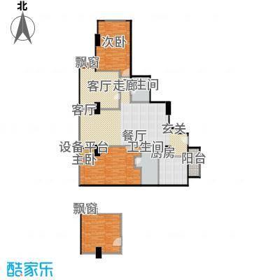 贡院9号177.19㎡贡院9号户型图四室两厅两卫(1/1张)户型10室