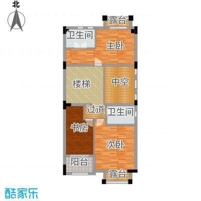 中信凯旋公馆户型3室2卫