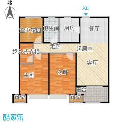九龙仓繁华里95.00㎡26#、28#、31#B户型2房2厅1卫户型2室2厅1卫
