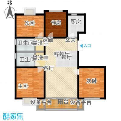 怡和花园110.00㎡怡和花园户型图三房140平米(1/3张)户型10室