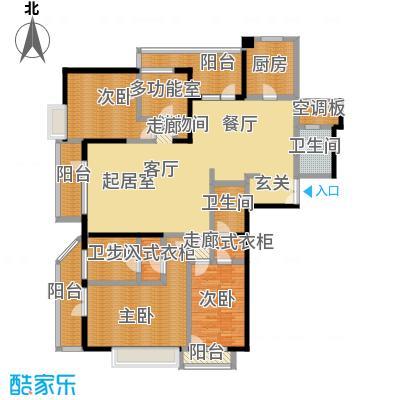 招商钻石山240.00㎡A01 9-37层 奇数层户型