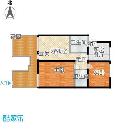 曹妃甸国际生态城万年丽海花城户型图(5/15张)