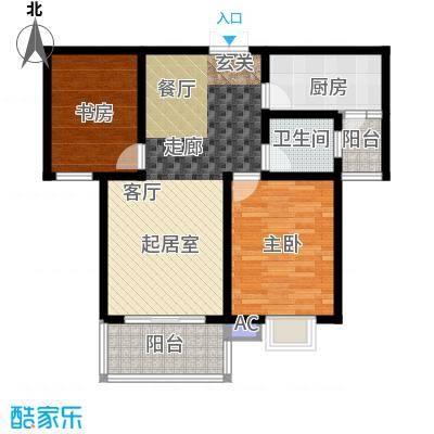 东方明珠花园东方明珠花园户型图78.76-92.31平米(3/7张)户型10室