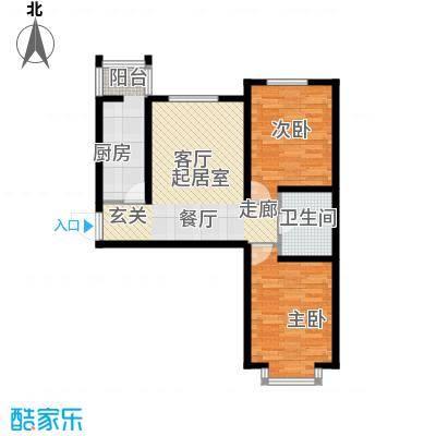 蒙大铂庭户型图(2/8张)