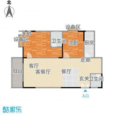 宸琪天和苑宸琪天和苑户型图(5/8张)户型2室2厅2卫