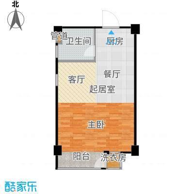 立方寓立方寓户型图q-a51㎡(18/28张)户型10室