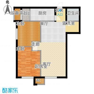 中海锦绣城89.92㎡中海锦绣城户型图F2-2(2/2张)户型10室