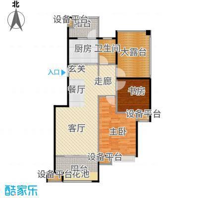 东投阳光城87.28㎡22#23#25#18#BA2户型2室2厅1卫