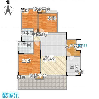 城南未来91.18㎡城南未来户型图G3室2厅2卫1厨91.18㎡(4/10张)户型10室