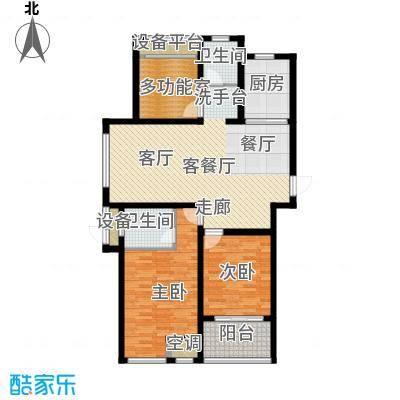 上书房110.00㎡上书房36栋E户型3室2厅2卫