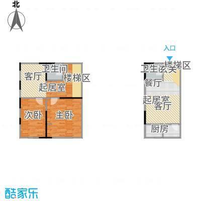 广天国际公寓D户型