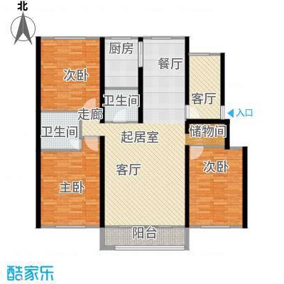 凤凰新城户型图(2/6张)