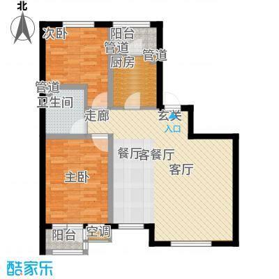 松江城户型图(2/7张)