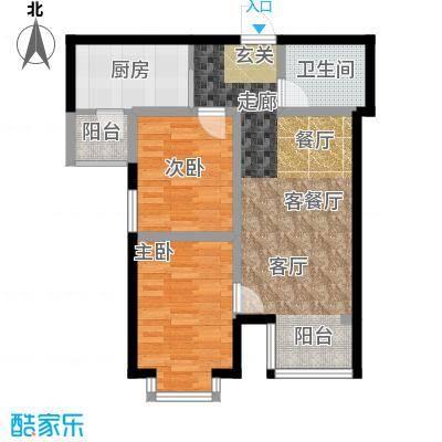 蒙大铂庭户型图(1/8张)