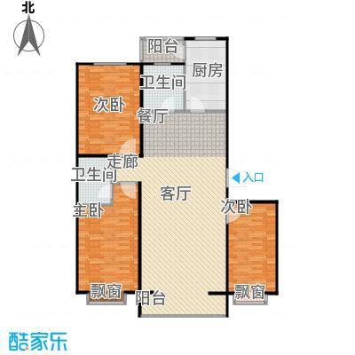 上院131.00㎡上院户型图三室两厅两卫(29/30张)户型10室