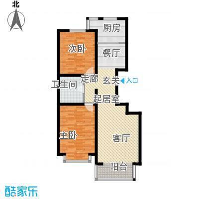 蒙大铂庭户型图(6/8张)