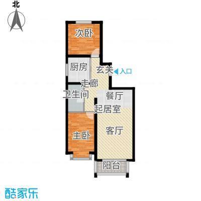 蒙大铂庭户型图(4/8张)