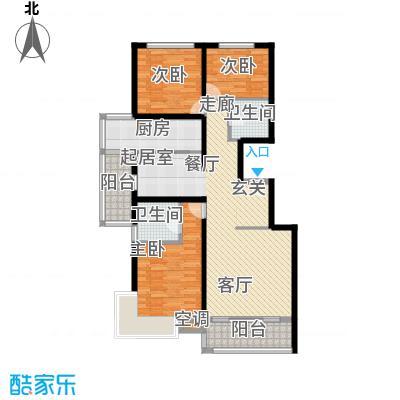 上东领海131.52㎡上东领海户型图(14/15张)户型10室