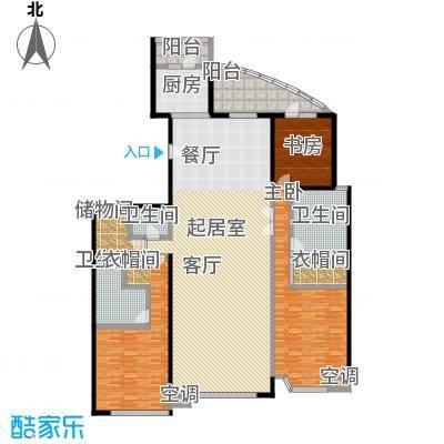 上东领海258.16㎡上东领海户型图四室两厅三卫(6/15张)户型10室