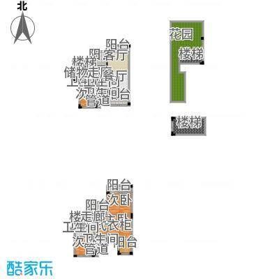 华宇小泉微VILLA202.31㎡一期5号楼2-2号叠上户型4室2厅3卫1厨 套内202.31㎡户型4室2厅2卫