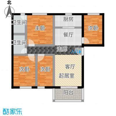 祈福新村99.69㎡21253141栋2&3/F2729栋3/F-01户型4室2卫1厨