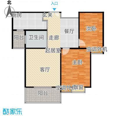 沁水新城94.34㎡沁水新城户型图二室二厅一卫(3/13张)户型10室