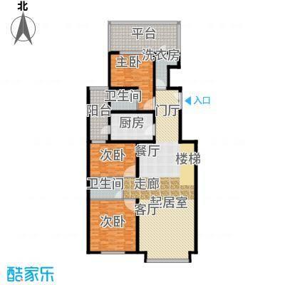 京师吉地190.00㎡K1首层户型10室