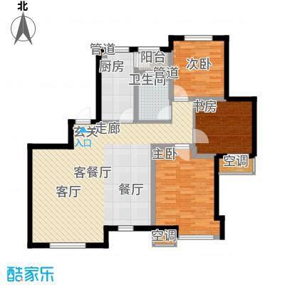 松江城户型图(1/7张)