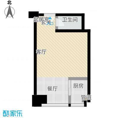 学府名门50.89㎡学府名门户型图一房一厅一卫:50.89平米-340套(1/3张)户型10室