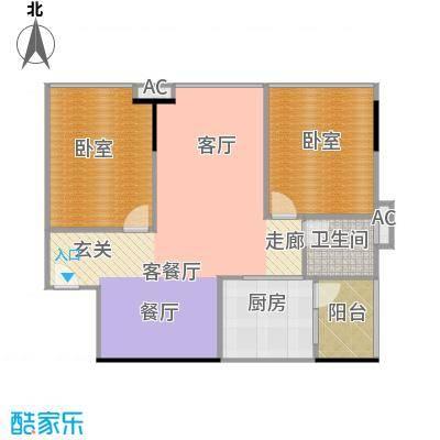 中兴花园二期A栋0户型1厅1卫1厨