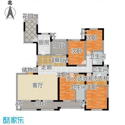 凤凰湖壹号230.00㎡大平层(1)尖沙咀 四房两厅三卫户型4室2厅3卫