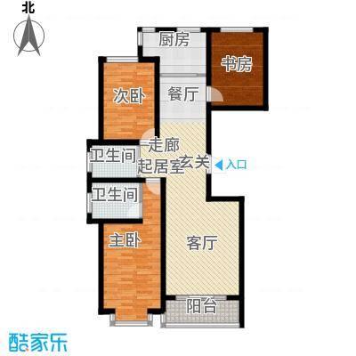 铂庭127.99㎡蒙大铂庭户型图(8/8张)户型10室