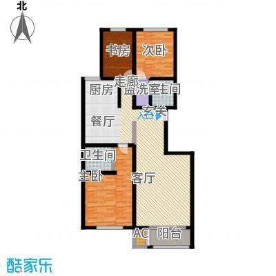 首府国际公馆首府国际公馆户型图三室两厅一卫(1/2张)户型10室