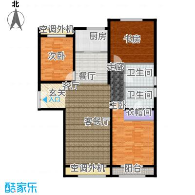 中鼎馨城126.00㎡中鼎馨城户型图B1(3/3张)户型3室2厅2卫