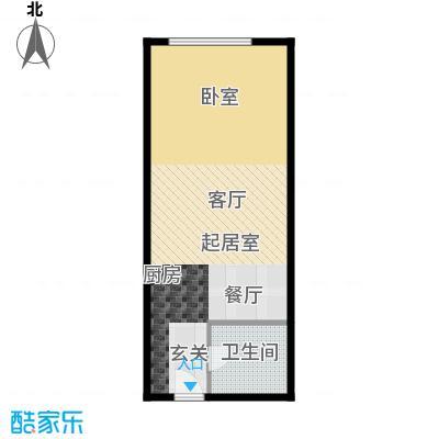上东8号62.16㎡K4\\\'开间户型10室
