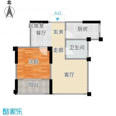 府西花园66.25㎡府西花园户型图(1/17张)户型10室