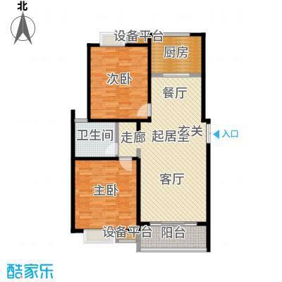 新城府翰苑101.33㎡二房二厅一卫-101.33平方米-33套户型