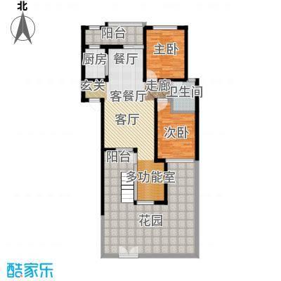 立立依山郡4号楼A栋1-11-2B栋1-户型2室1厅1卫1厨