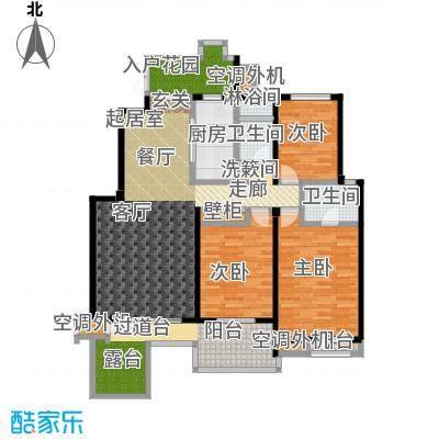 国信观湖湾146.05㎡L2-2户型3室2厅2卫