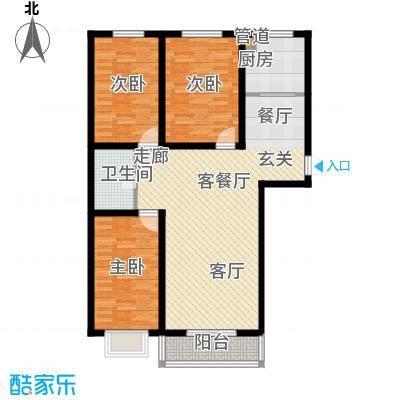 景观花园三期119.89㎡景观花园三期户型图(1/2张)户型10室