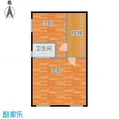荔城碧桂园亲邻和院美墅二层户型2室1卫