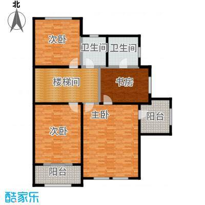 名城嘉苑282.38㎡名城嘉苑户型图366平米之二层(1/8张)户型10室