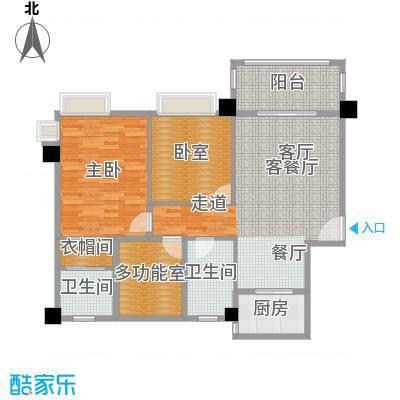 黄旗印象户型1室1厅2卫1厨