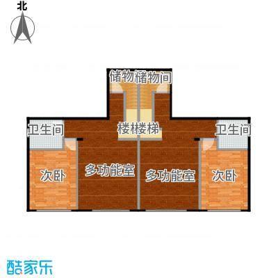 荔城碧桂园双拼别墅H32-c负一层户型2室2卫