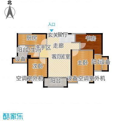 悦府・保利海德公馆三期95.00㎡三室两厅一卫户型3室2厅1卫
