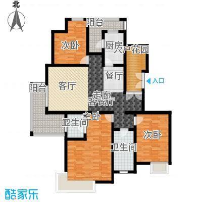 恒大雅苑142.51㎡户型3室1厅2卫1厨